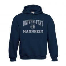 Hooded Sweatshirt Classic, navy blue, L