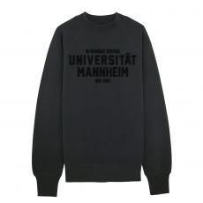 Special Sweatshirt Illinoise, black flock, M